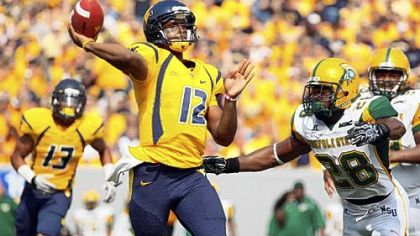 Mountaineers quarterback Geno Smith: Passionate for football and the arts.