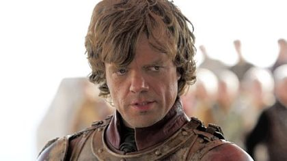 "Peter Dinklage is Tyrion in ""Game of Thrones."""