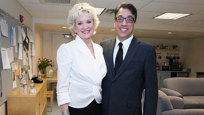 Christine Ebersole and Ted Pappas.