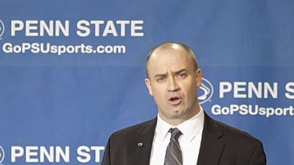 Bill O'Brien faces the media Saturday in University Park after being introduced as Penn State's new head coach.