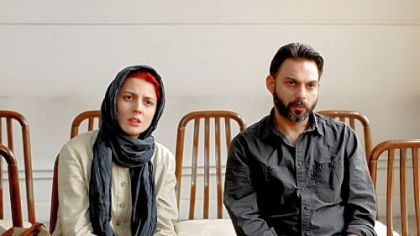 "Leila Hatami as Simin and Peyman Moadi as Nader in ""A Separation."""