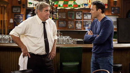 "The Pittsburgh-set ""Sullivan and Son,"" starring Dan Lauria, left, and local comedian Steve Byrne, has been picked up by TBS as a summer series."