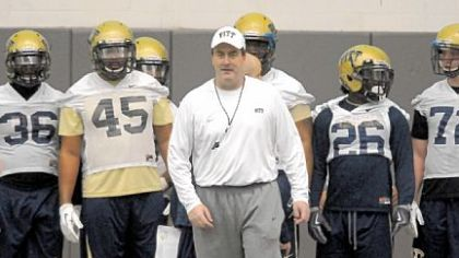 Paul Chryst and the Panthers: Going to work on the South Side.