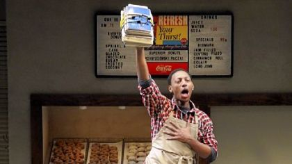 Brandon Gill portrayed the ebullient young Franco in &quot;Superior Donuts&quot; at Pittsburgh Public Theater.