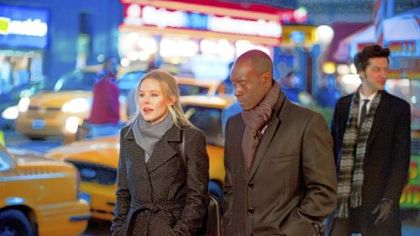 Kristen Bell, Don Cheadle and Ben Schwartz star in &quot;House of Lies,&quot; premiering Sunday on Showtime.
