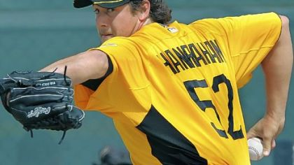 Pirates closer Joel Hanrahan hopes to have a repeat of his 2011 campaign when he posted a 1.83 ERA with 40 saves.