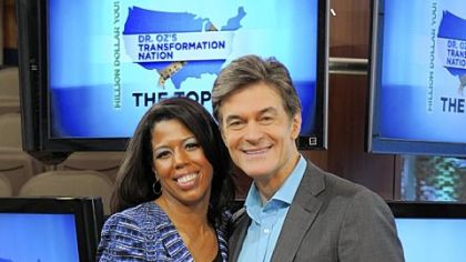 Sharona Sankar-King is one of 10 finalists in Dr. Oz's weight-loss challenge.