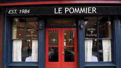 Le Pommier Bistro Francais on the South Side closed in January 2011, one of five fine French restaurants to close in the region in less than a decade.