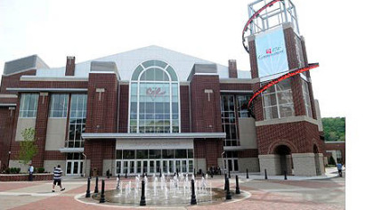 California University of Pennsylvania Convocation Center.