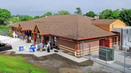 The Animal Care Center at the Pittsburgh Zoo & PPG Aquarium opened Tuesday.