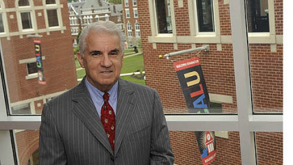 Former California University President Angelo Armenti Jr. in 2009 file photo.