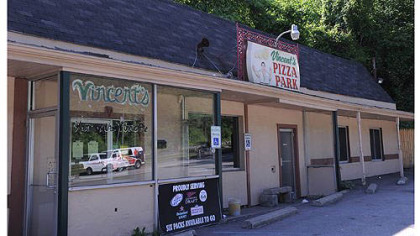 Vincent&#039;s Pizza Park in Forest Hills, home of the locally known &quot;Vinnie Pie.&quot;