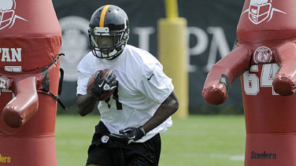 Toney Clemons takes part in OTAs on the South Side.