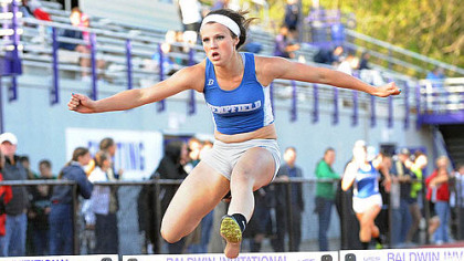 Hempfield freshman Maddie Holmberg: Her long jump of 18 feet, 11 inches at a meet last month is the third best in WPIAL history.