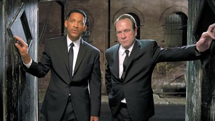 "Will Smith and Tommy Lee Jones star ""Men in Black 3."""