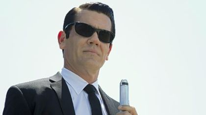 "Josh Brolin in ""Men in Black 3."""