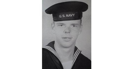 World War II veteran John Clifford served on the U.S.S. Sangay AE-10, an ammunition and explosives ship.