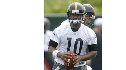 Troy Smith looks for a way to stand out in the crowd of QBs.