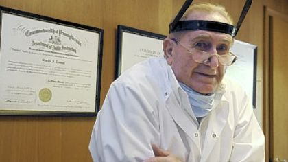 Dentist Charles Tremont, 87, sees patients four days a week.
