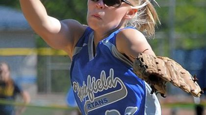 Hempfield pitcher Karilynn Null will lead the Spartans into their seventh WPIAL championship game appearance.