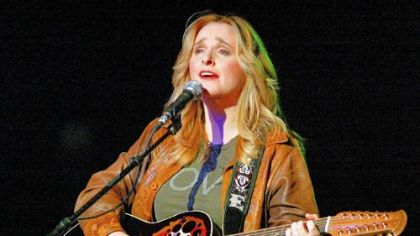 Melissa Etheridge at the Rock For Choice Concert at the Hollywood Palladium in 2004.