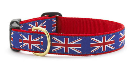 Up Country's Union Jack dog collar, $21 from www.upcountryinc.com