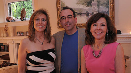 Carole Bailey, Andrew Stewart and Kim Evert.