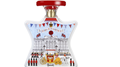 Bond No.9 London Celebration fragrance available exclusively at Harrods in London (www.harrods.com)