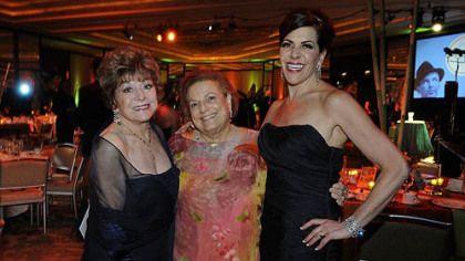 Patti Matty, Norma Sobel, and Kristen Matty Lane.