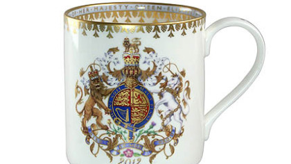 Diamond Jubilee coffee mug available at www.olddurhamroad.com, $40