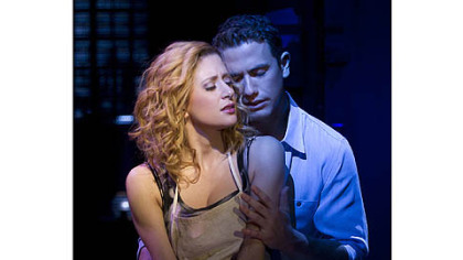 "In ""Ghost The Musical,"" Caissie Levy and Richard Fleeshman reprise their starring roles as Sam and Molly, which they originated in London's hit West End production."
