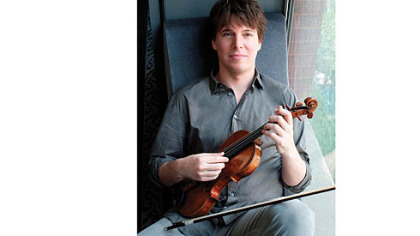 "Violinist Joshua Bell -- ""When an opportunity arises, I take it."""