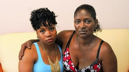 Michelle Williams, left, and her mother Apryle Williams are investigating the death of Apryle&#039;s son John &quot;J.J.&quot; Carter, who recently died in a state prison.