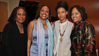 Geri Allen, Cheryl Hall-Russell, Esperanza Spalding and Terri Lyne Carrington.
