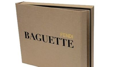 Fendi is honoring the 15th anniversary of its  Baguette handbag with a 300-plus page coffee-table book celebrating the accessory's artistry and history.