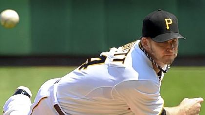 Pittsburgh Pirates starter AJ Burnett threw 71 of his 107 pitches for strikes in his victory Sunday against the Royals. Pitch location is key when using a defensive shift.