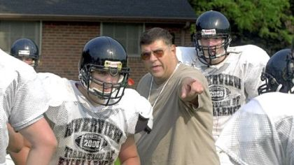 Jake Cappa served as the head football coach at Riverview High School for 16 seasons.