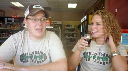 Zachary and Erika Shumaker, who are launching ShuBrew, a brewpub somewhere in the North Hills.
