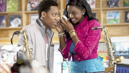 In &quot;Let It Shine,&quot; Tyler James Williams portrays Cyrus DeBarge, an aspiring musician with a gift for rhyme who can&#039;t tell longtime crush Roxie, played by Coco Jones, how he feels.