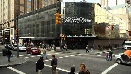 The Saks Fifth Avenue store at Smithfield Street and Oliver Avenue, Downtown.