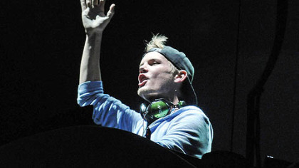 Avicii on Thursday at Consol Energy Center.
