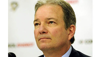 Ray Shero, general manager of the Penguins.