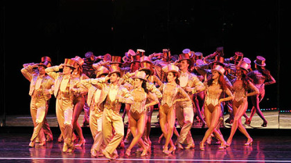 "The cast of Pittsburgh CLO's ""A Chorus Line"" performs ""One,"" a singular sensation from the Pulitzer Prize-winning musical."