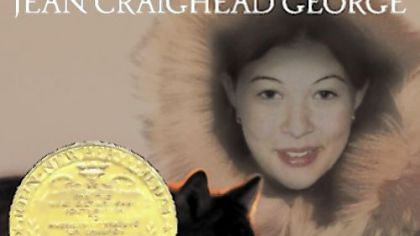 "Jean Craighead George's ""Julie of the Wolves"" won the 1973 Newbery Medal."