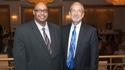 James Wetzel and Renewal CEO Doug Williams.