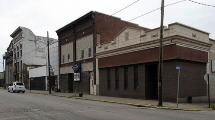The building at the right, on the corner of Braddock Avenue and Eighth Street in Braddock, will house a restaurant owned and operated by chef Kevin Sousa.