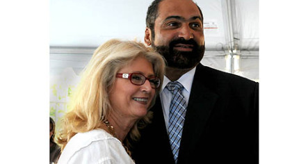 Dana and Franco Harris.