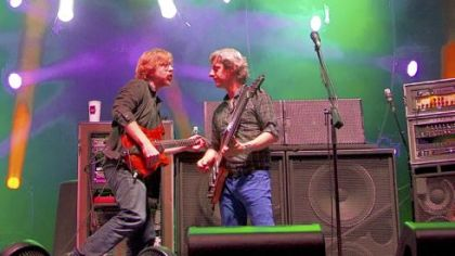 Phish performs during the Bonnaroo Music and Arts Festival in Manchester, Tenn., earlier this month.