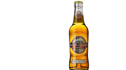 Innis & Gunn original, brewed in Edinburgh, Scotland.