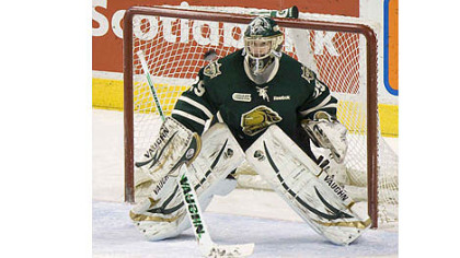 London Knights goalie and Wexford native Michael Houser's journey to the draft included 16 surgeries on each foot.